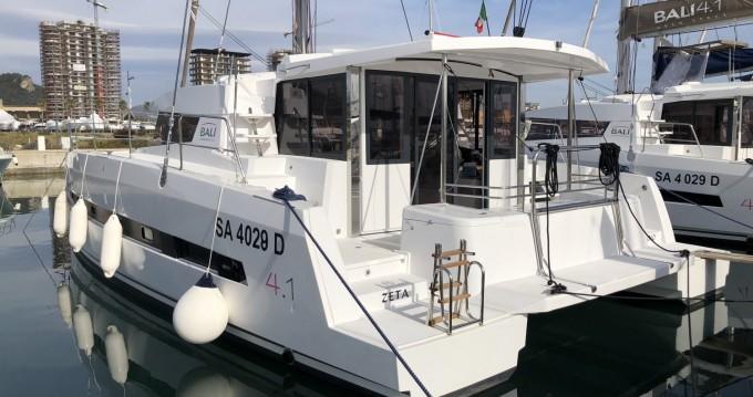 Ein Bali Catamarans Bali 4.1 mieten in Salerno