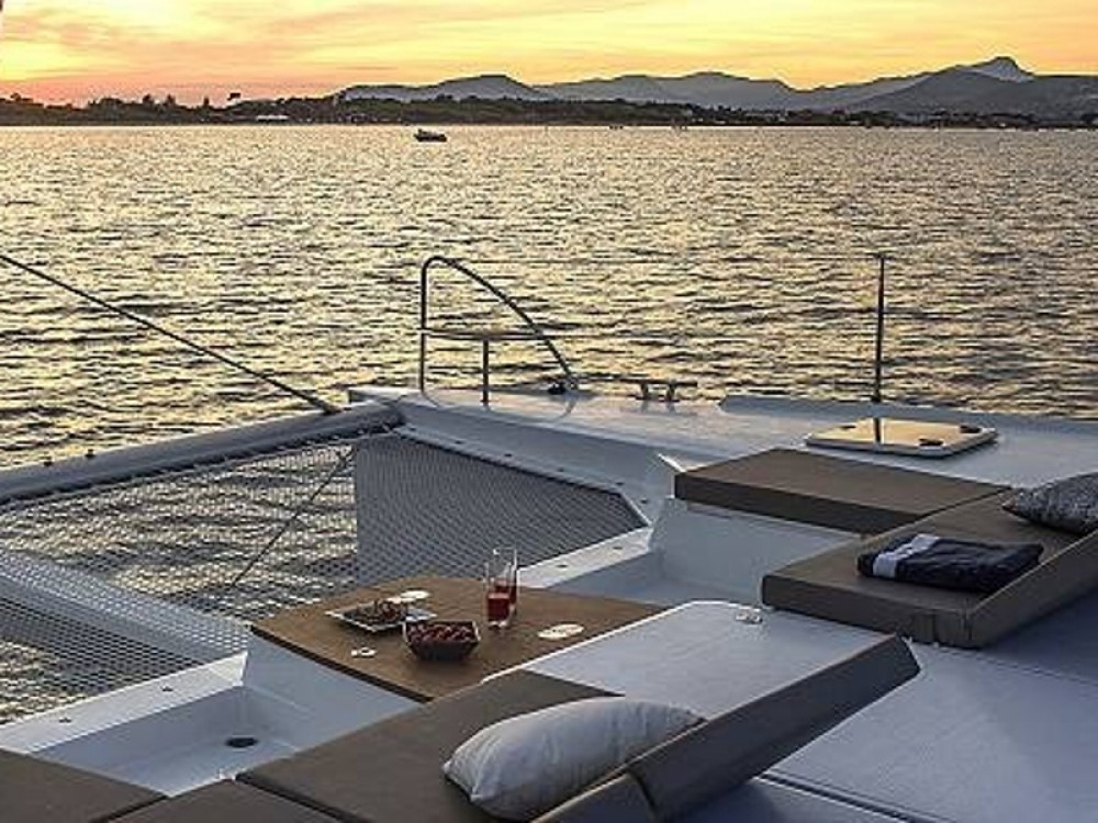 Yacht-Charter in Olympic Marina - Fountaine Pajot Saba 50 auf SamBoat