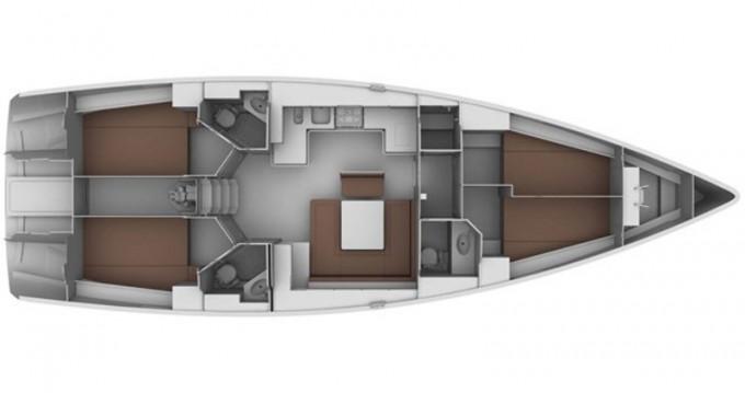 Ein Bavaria Bavaria 45 Cruiser Style mieten in Álimos