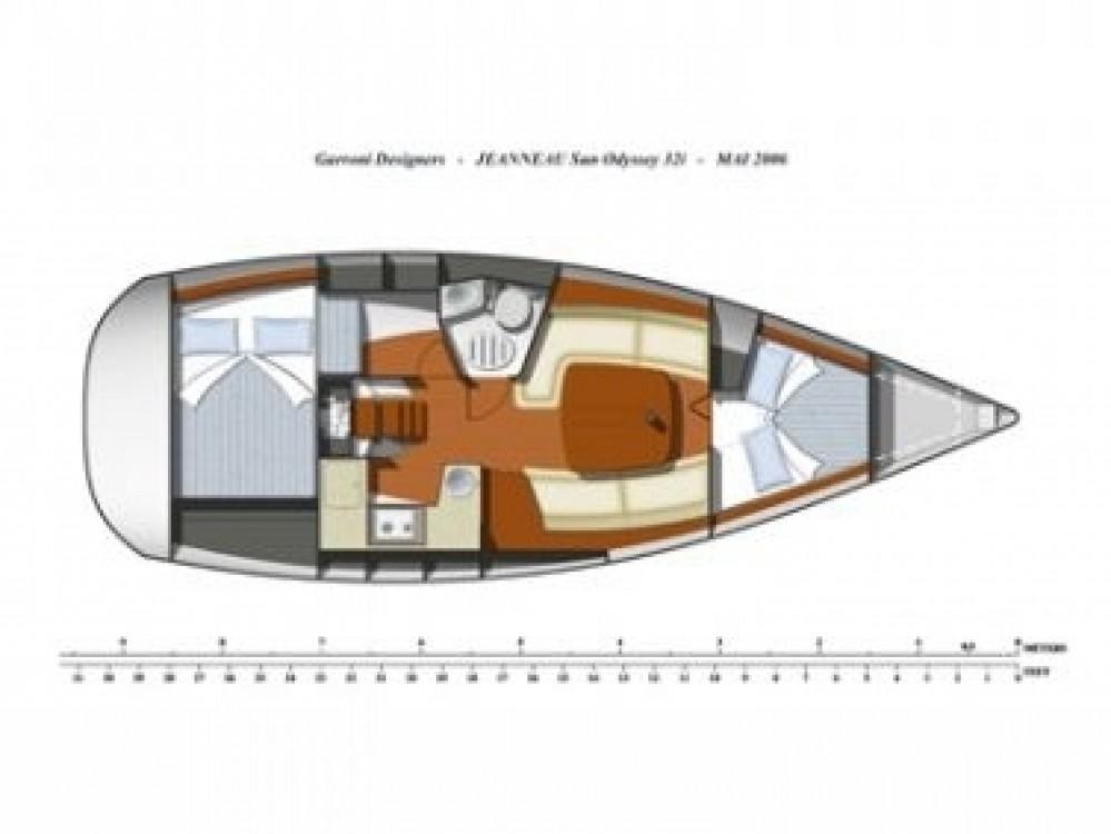 Segelboot mieten in Vodice - Jeanneau Sun Odyssey 32i