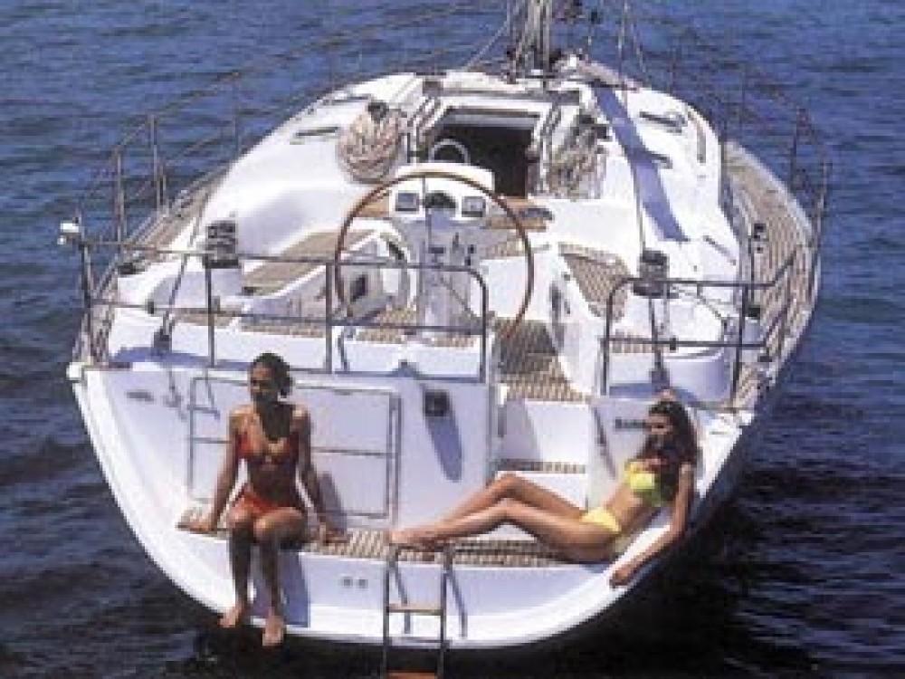 Jeanneau Sun Odyssey 43DS zwischen Privatpersonen und professionellem Anbieter Vodice