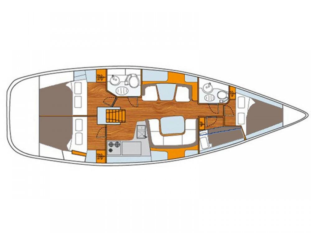 Bootsverleih Jeanneau Sun Odyssey 43DS Vodice Samboat