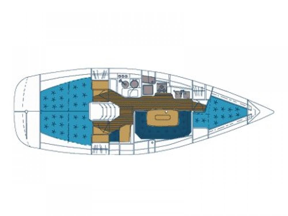 Segelboot mieten in Vodice - Elan Elan 36