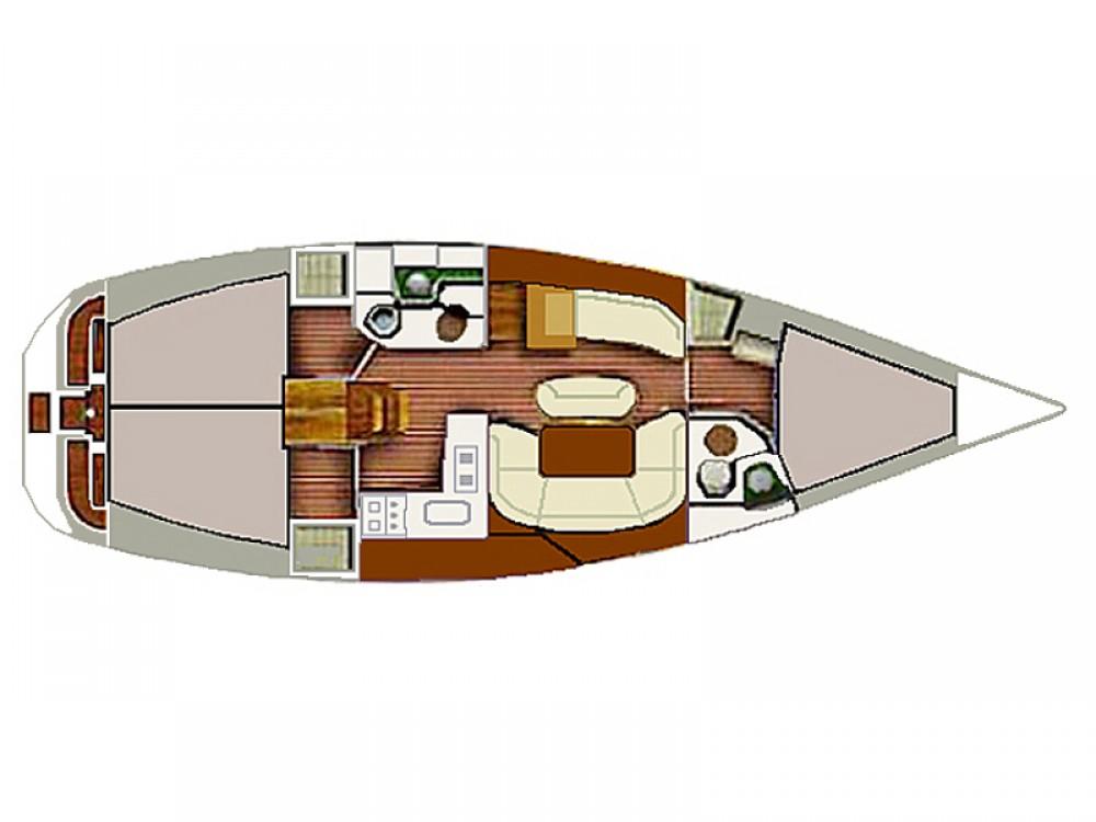 Segelboot mit oder ohne Skipper Jeanneau mieten in Vodice
