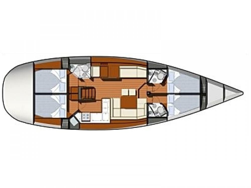 Bootsverleih Vodice günstig Sun Odyssey 50DS