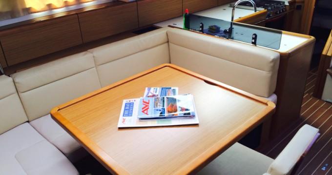 Jeanneau Sun Odyssey 50DS zwischen Privatpersonen und professionellem Anbieter Betina