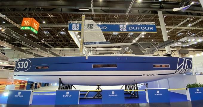 Dufour Dufour 530 Exclusive 2020 zwischen Privatpersonen und professionellem Anbieter Porto Rotondo