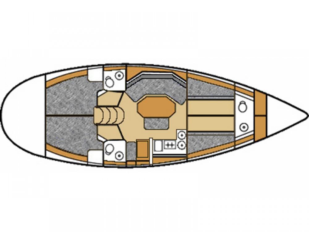 Bootsverleih  günstig Elan 431