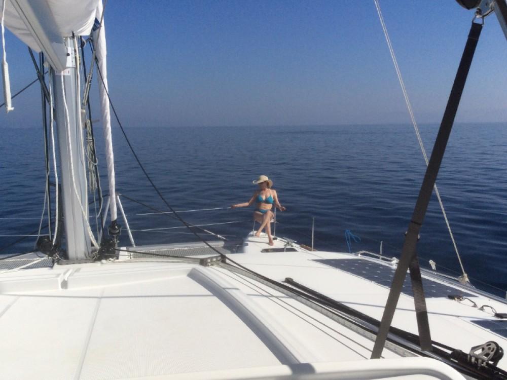Bootsverleih Torre del Greco günstig Lagoon 450