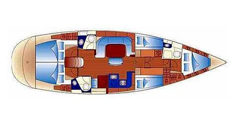 Bootsverleih Palma de Mallorca günstig Bavaria 49