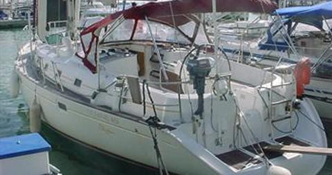 Bénéteau Oceanis 461 zwischen Privatpersonen und professionellem Anbieter Palma de Mallorca