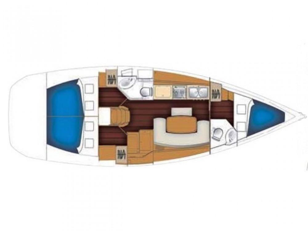 Bootsverleih Bénéteau Cyclades 39 Palma Samboat