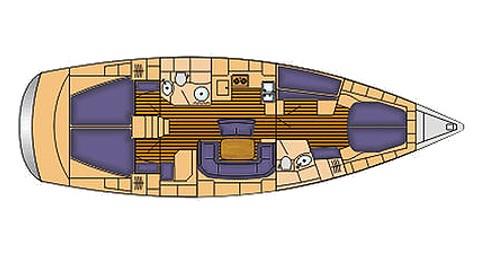 Bootsverleih Palma de Mallorca günstig Bavaria 46 Cruiser