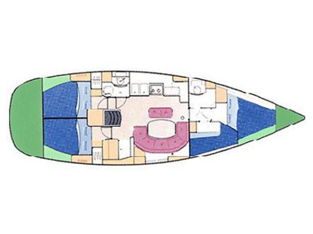 Segelboot mieten in Palma - Bénéteau Oceanis 411-4