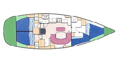 Bootsverleih Palma de Mallorca günstig Oceanis 411