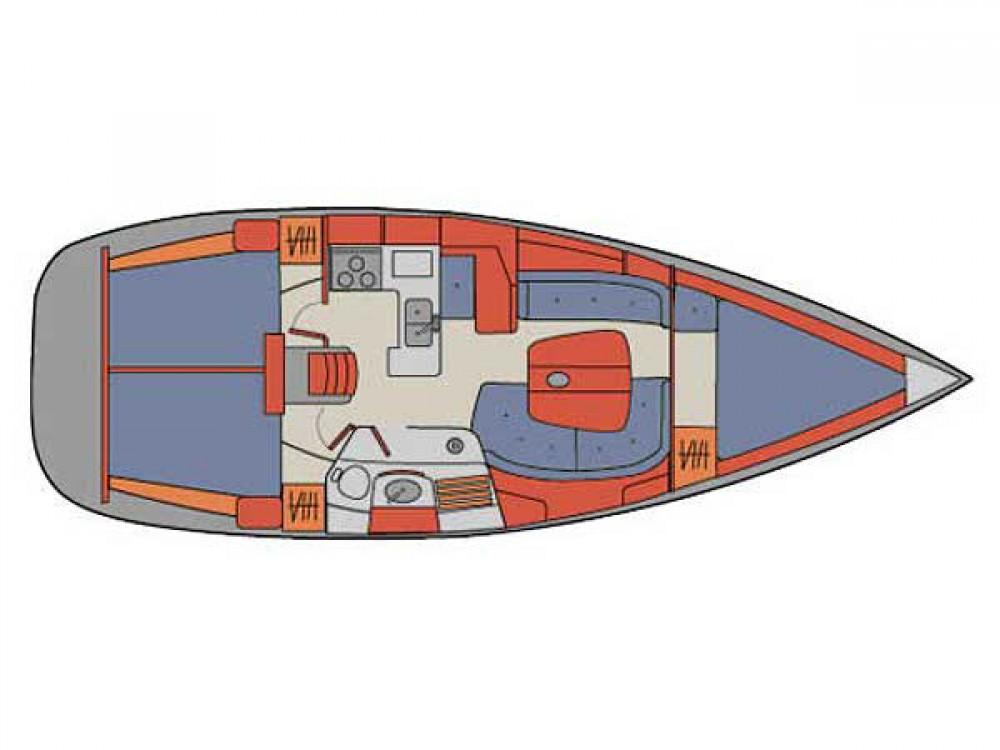 Segelboot mit oder ohne Skipper Bénéteau mieten in Palma