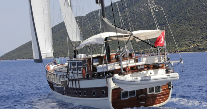 Segelboot mieten in Bodrum -  Gulet Zeynos
