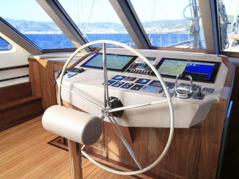 Segelboot mieten in Bodrum -  Gulet Daglarca