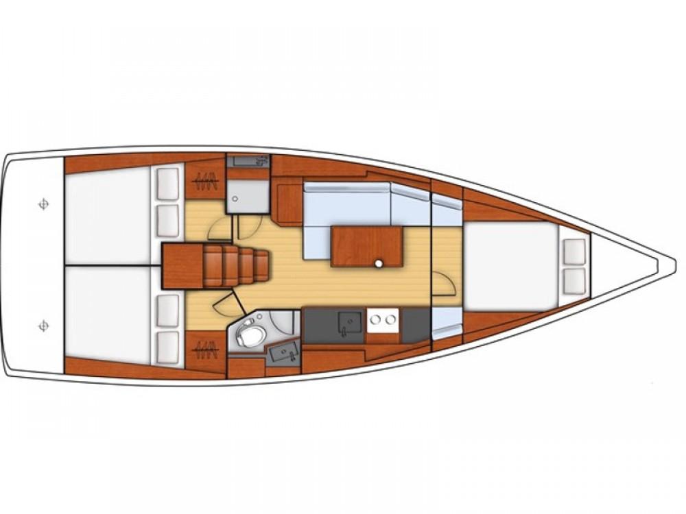 Segelboot mieten in  - Bénéteau Oceanis 38