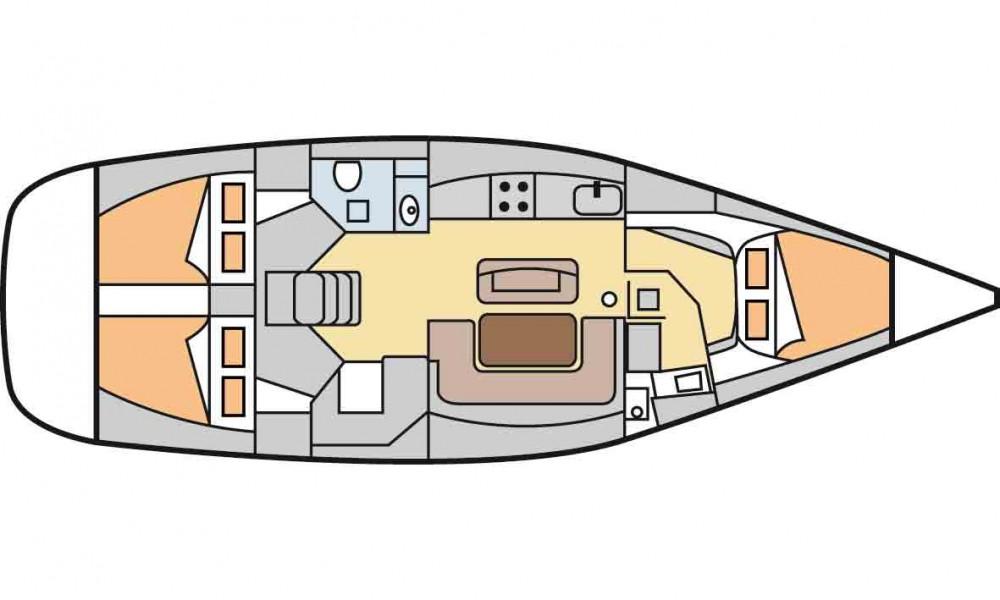Segelboot mit oder ohne Skipper Dufour mieten in Fethiye