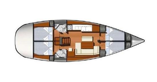 Bootsverleih Athen günstig Jeanneau - Sun Odyssey 44