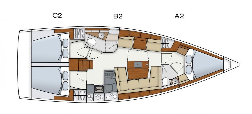 Segelboot mit oder ohne Skipper Hanse mieten in Komolac
