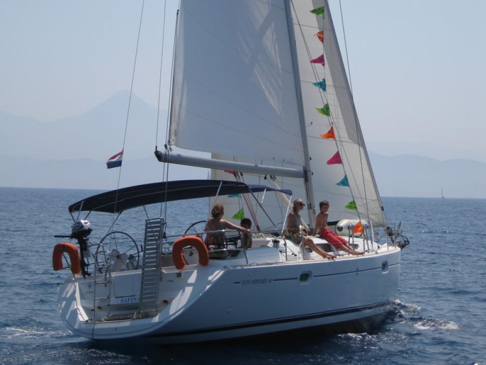 Bootsverleih Jeanneau Sun Odyssey 45 Fethiye Samboat