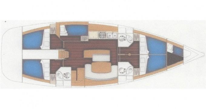 Yacht-Charter in Fethiye - Bénéteau Cyclades 50.5 auf SamBoat