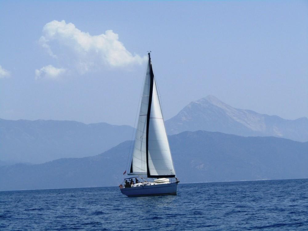 Bootsverleih Fethiye günstig Cyclades 50.5