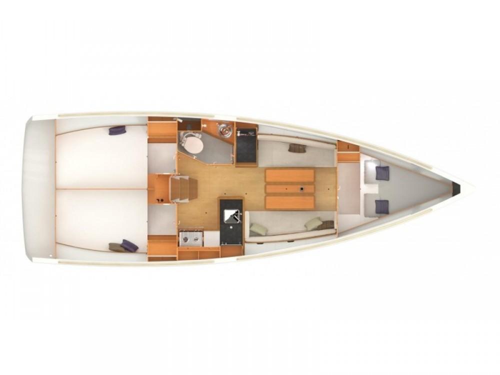Segelboot mieten in Fethiye - Jeanneau Sun Odyssey 349