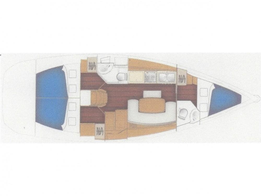 Bootsverleih Bénéteau Cyclades 39.3 Fethiye Samboat