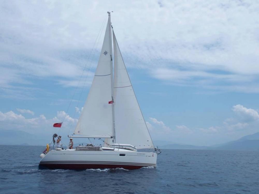 Jeanneau Sun Odyssey 36i zwischen Privatpersonen und professionellem Anbieter Fethiye