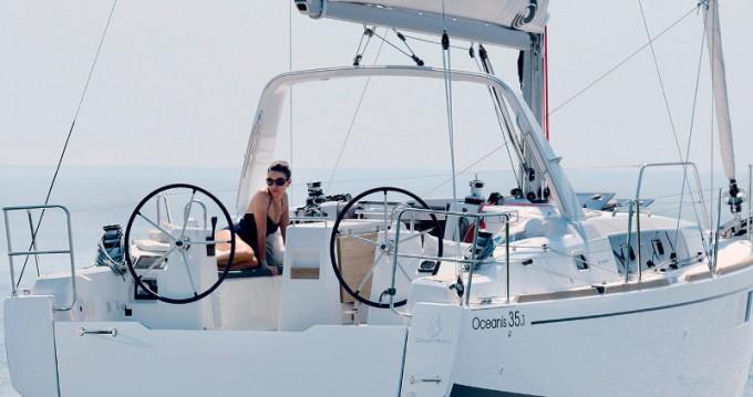 Segelboot mieten in Trapani - Bénéteau Oceanis 35.1