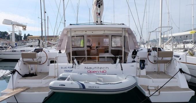 Katamaran mieten in Trogir - Nautitech Nautitech Open 40