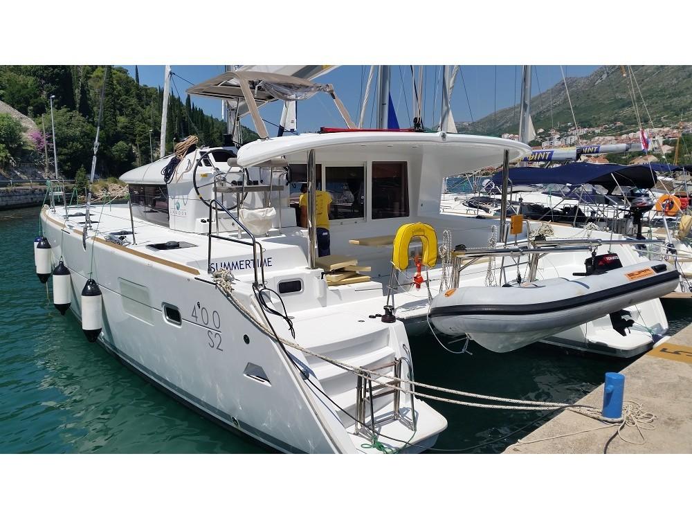 Katamaran mit oder ohne Skipper Lagoon mieten in Komolac