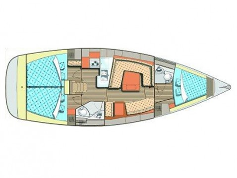 Yacht-Charter in Trogir - Elan Impression 384 auf SamBoat