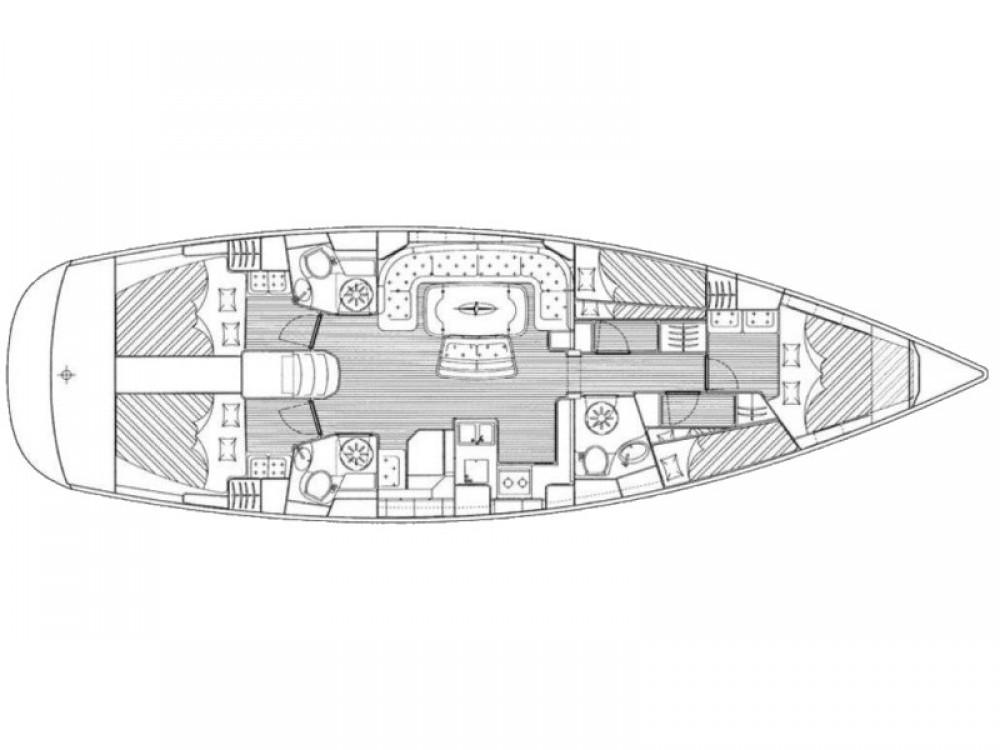 Ein Bavaria Bavaria 50 Cruiser mieten in ACI Marina Trogir