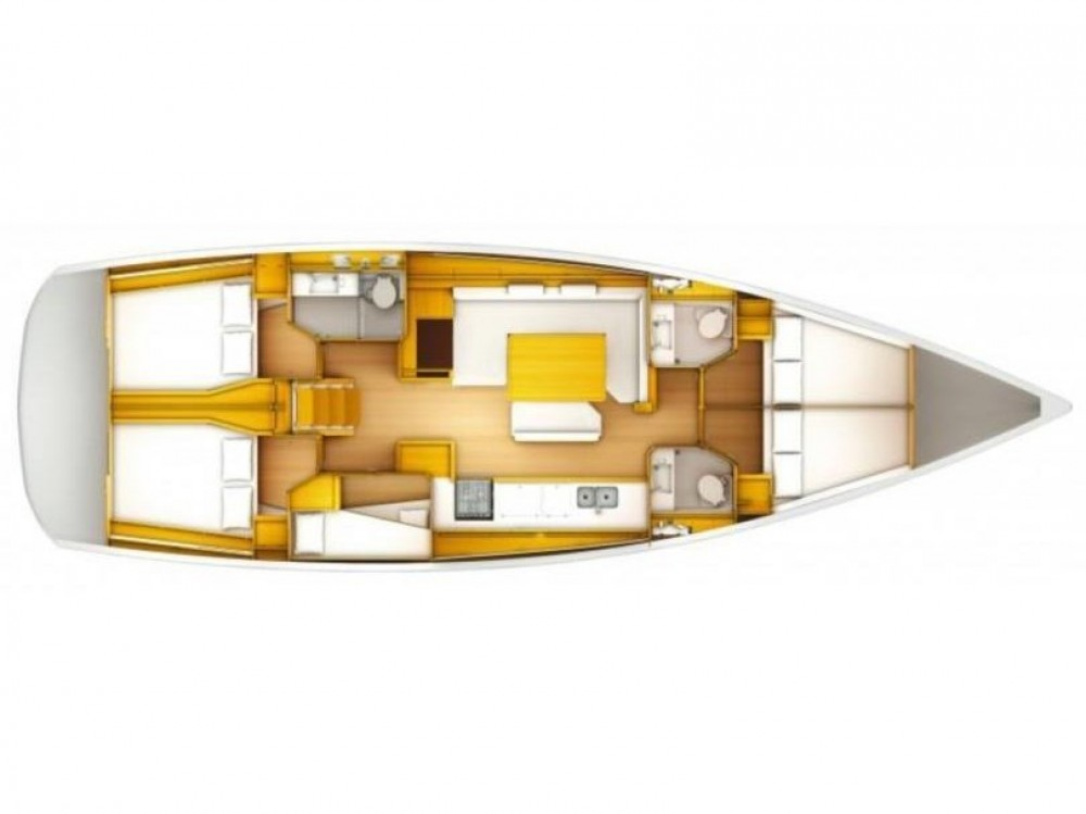 Segelboot mit oder ohne Skipper Jeanneau mieten in Trogir