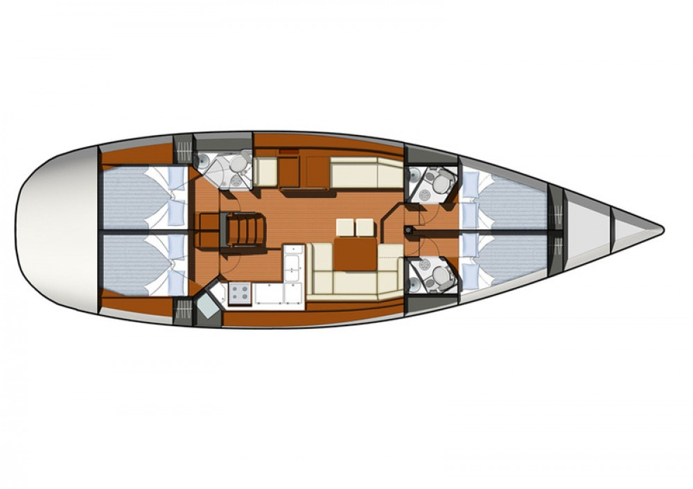 Yacht-Charter in Trau - Jeanneau Sun Odyssey 50DS auf SamBoat