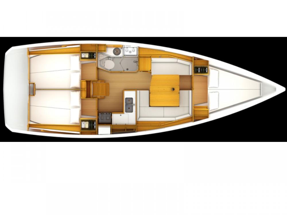 Bootsverleih Jeanneau Sun Odyssey 379  Samboat