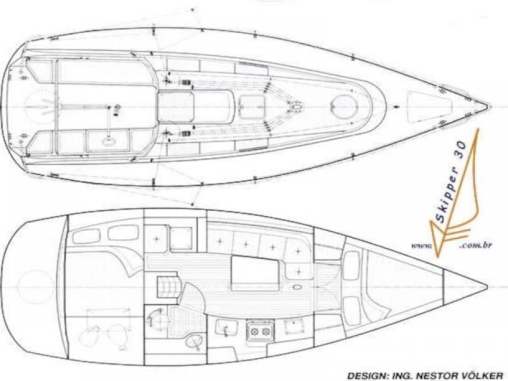 Segelboot mit oder ohne Skipper  mieten in Paraty