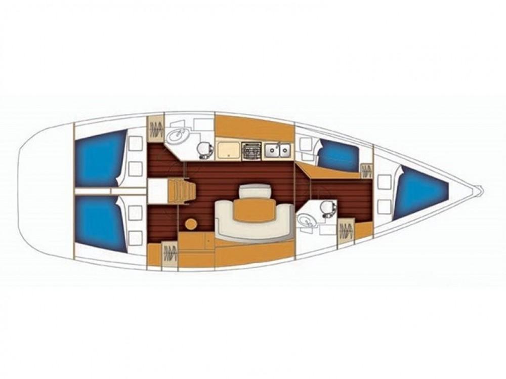 Bootsverleih Bénéteau Cyclades 434 Volos Samboat