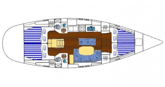 Ein Bénéteau Oceanis 461 mieten in Lefkada