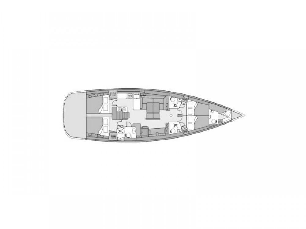 Segelboot mieten in Volos - Bénéteau Oceanis 54