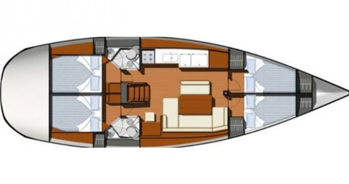 Segelboot mieten in Gouviá - Jeanneau Sun Odyssey 44i