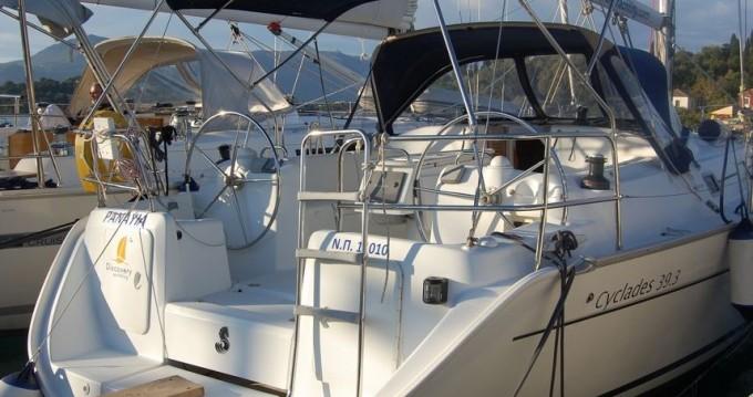 Segelboot mieten in Gouviá - Bénéteau Cyclades 393