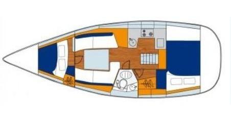 Segelboot mieten in Gouviá - Jeanneau Sun Odyssey 32i