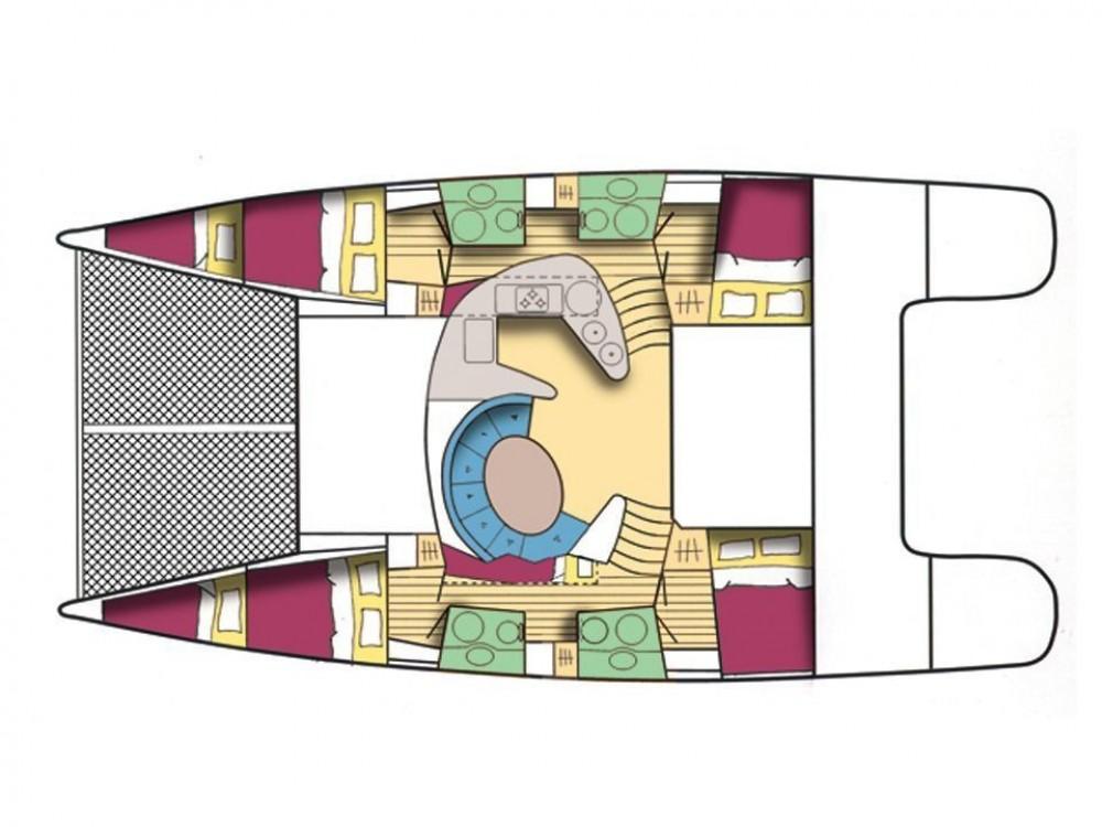 Yacht-Charter in Álimos - Fountaine Pajot Bahia 46 auf SamBoat