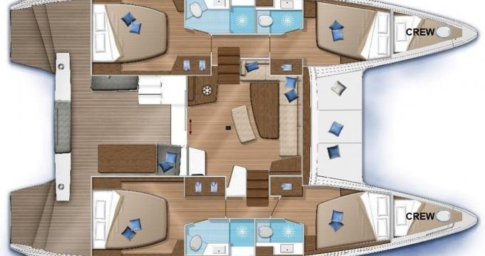 Yacht-Charter in Foinikas - Lagoon Lagoon 42 auf SamBoat