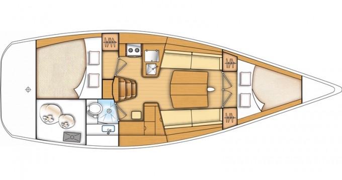 Yacht-Charter in Kaštel Gomilica - Bénéteau First 35 auf SamBoat